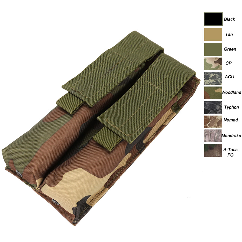 Outdoor Camouflage Pack Mag Holder Cartridge Clip Pouch Pistol ... 2a4f384a62